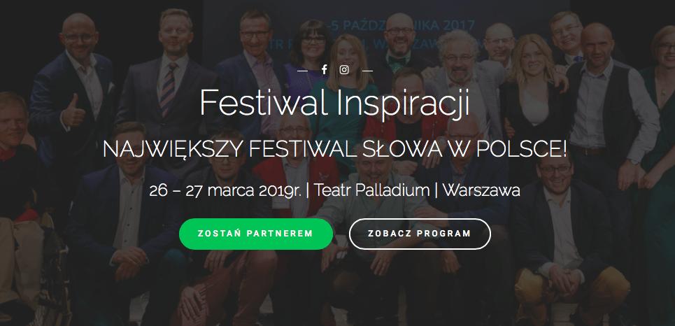 FESTIWAL INSPIRACJI. Warszawa