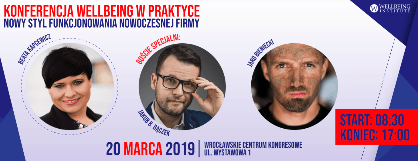 Konferencja Wellbeing w praktyce. Wrocław