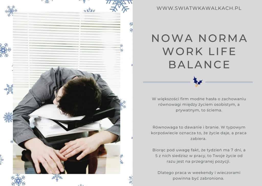 Jak pracować bezutraty równowagi?